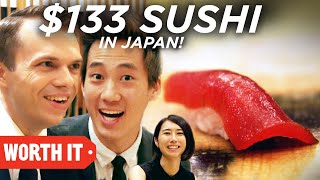 $1 Sushi Vs. $133 Sushi • Japan thumbnail