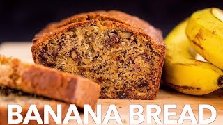 Moist Banana Bread Recipe