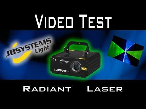 Video Test - JB Systems - Radiant Laser