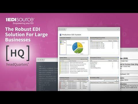 Data Interchange EDI vs Oracle Data Integrator vs EDI/HQ Comparison