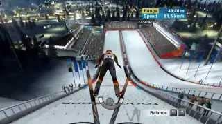 Torino 2006 Ski Jumping PC Gameplay