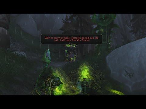 Rumblings Near Feltotem - Patch 7.2 Artifact Quest