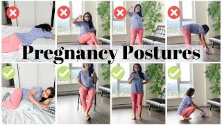 How To SIT, SLEEP, STAND And WALK During Pregnancy | Gautam Pragya