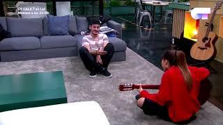 AITANA y CEPEDA cantando NO PUEDO VIVIR SIN TI | OT