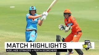 Strikers send Scorchers packing with dominant victory   Rebel WBBL 05