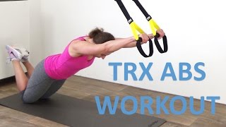 TRX Abs Workout – 10 Minute TRX Suspension Exercises For Your Abs by FitnessType