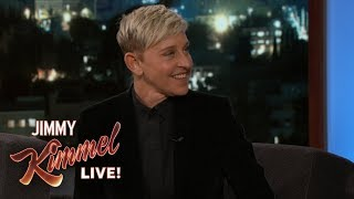 Ellen DeGeneres Makes Fun of Jimmy Kimmel