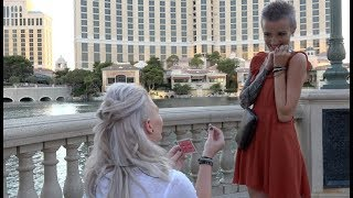 These Girls Had The Perfect Proposal In Las Vegas!
