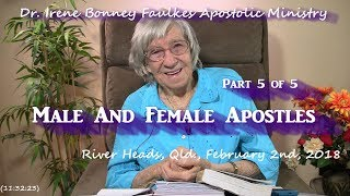 (Part 5 of 5) Male and female apostles
