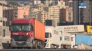 Ponte Morandi, traffico in tilt a Genova e disagi per il trasporto merci. Aspettando settembre