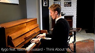 Kygo Feat. Valerie Broussard   Think About You (Piano Cover) [HD]