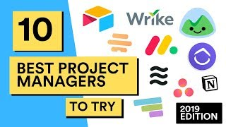 10 Best Project Management Tools for Teams in 2019