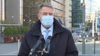 Iohannis: România va dezvolta centralele nucleare şi reţeaua de gaz metan; excelent ar fi să fie finanţate din bani de la UE