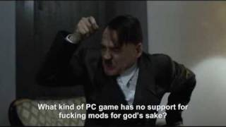 Hitler reacts to news that Modern Warfare 2 has no dedicated servers
