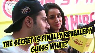 Revealed - Varun Dhawan Is Shraddha Kapoor's First Crush | ABCD 2 @ Mirchi Studio | Radio Mirchi