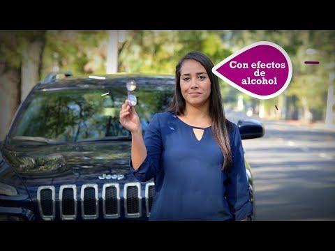 ¿Cuáles son los efectos del alcohol cuando manejas?