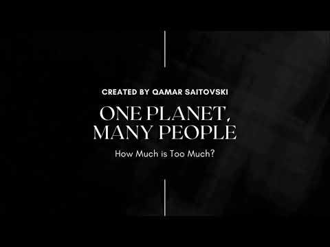 How Much Is Too Much? - by Qamar Saitovski