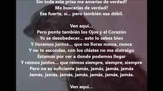 Anche Fragile (Tambien Debil) Elisa  Lyrics Español