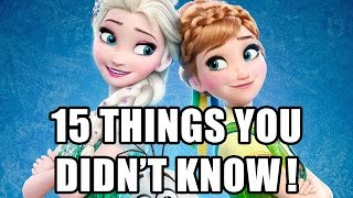 15 Things You Didn't Know About Frozen Fever