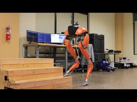 Robots are Learning to Walk Up Stairs