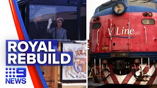 Victorian royal train to be reassembled | 9 News Australia
