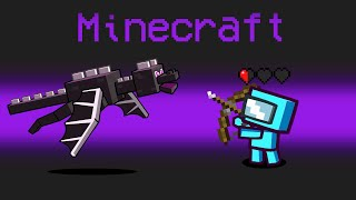 *MINECRAFT* MOD in Among Us