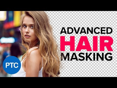 ADVANCED Hair Masking In Photoshop – MASK HAIR From BUSY Backgrounds – Photoshop Tutorial