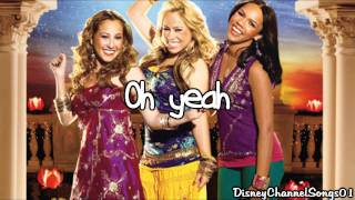 The Cheetah Girls - Dance Me If You Can With Lyrics