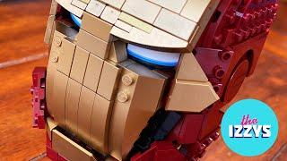 LEGO Iron Man Helmet!