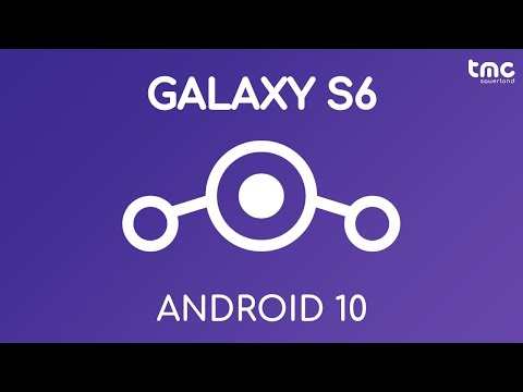 Android 9 auf dem Samsung Galaxy S6 und S6 edge : LineageOS 16.0