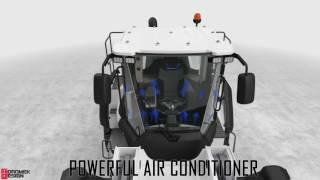Hidromek 640WL homlokrakodó
