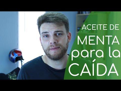 ACEITE DE MENTA para la CAÍDA DEL CABELLO Y EL CUIDADO CAPILAR