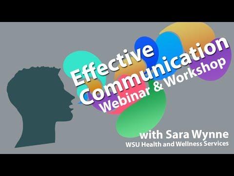 Effective Communication Workshop - YouTube
