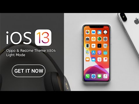 Oppo Coloros iphone ios xS theme for oppo a3s , F5 , F7 , F9 , FindX