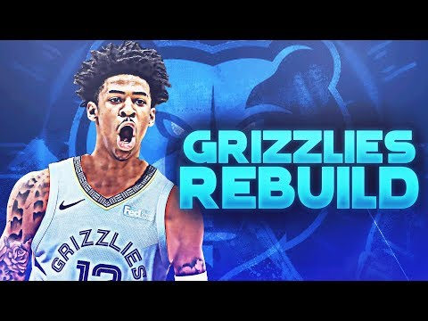 Mike Conley Traded! Ja Morant Memphis Grizzlies Rebuild | NBA 2K19