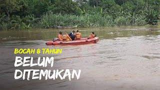 Bocah 8 Tahun yang Hilang di Sungai Cimanuk Belum Ditemukan oleh Tim SAR Cirebon