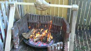 Thanksgiving Turkey Cooked Over Wood Fire...the Best Ever!!!