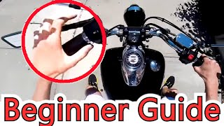 How To Ride A Motorcycle - Must See, Everything You Need To Know!