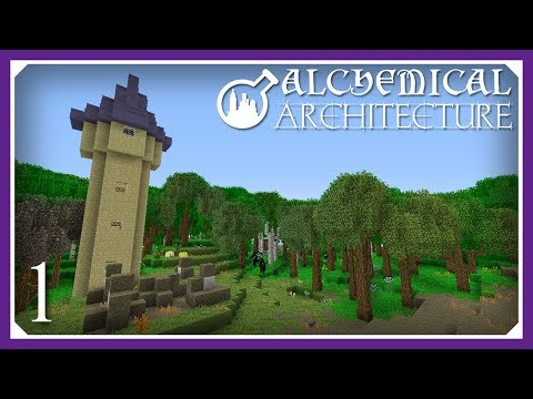 Alchemical Architecture | The Monk Mod! | E01(Magic Modpack Let's Play)