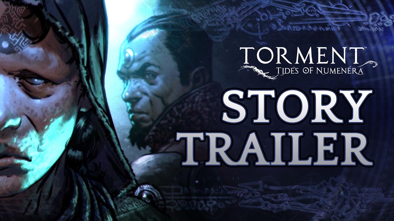 Torment: Tides of Numenera  - Trailer Storia