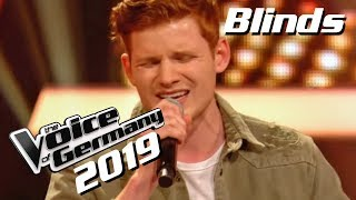 Alec Benjamin   Let Me Down Slowly (Philipp Patt) | The Voice Of Germany 2019 | Blinds