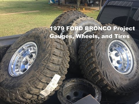 EP4 - 1979 Ford Bronco Gauges and Tires