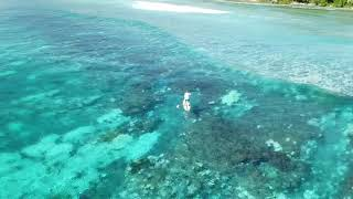 preview picture of video 'Surfing Kwajalein Marshall Islands'