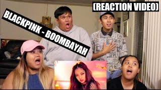 BLACKPINK   BOOMBAYAH (붐바야) || Reaction Video