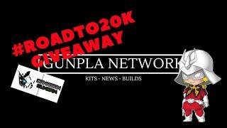 #ROADTO20K Event Giveaway Details Sponsor by Canadian Gundam