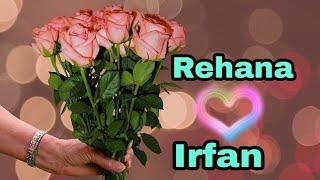 """"""" Rehana loves Irfan""""     Tu Mera hai Sanam female version   """