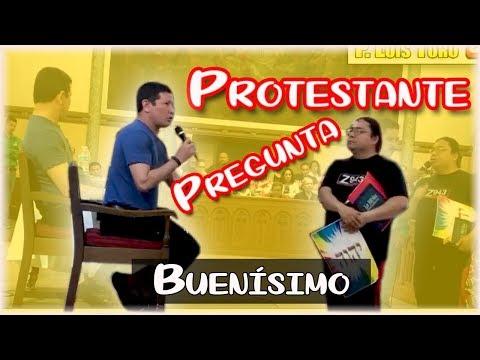 Protestante no Soporta y Lanza Pregunta - P. LUIS TORO