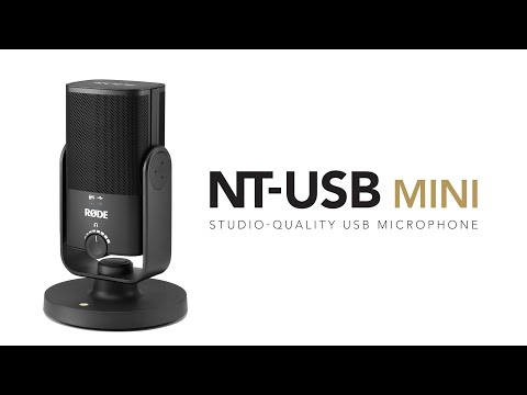 RØDE NT-USB Mini (Home studio, podcasting)