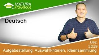 Maturaaufgabe  - Zentralmatura Deutsch Jänner 2019 #33