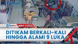 Viral Video Detik-detik Pria di Bengkulu Ditikam Berkali-kali secara Membabi Buta, Alami 9 Luka